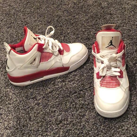 super popular 8911e eb91c Jordan Shoes - Air Jordan retro 4 red and white
